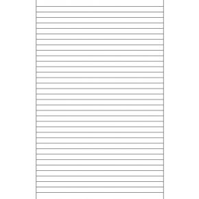 8mm Ruled Paper with Margins