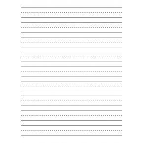 Premium 10mm Handwriting Paper