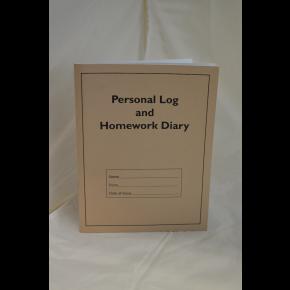 Personal Log and Homework Diary