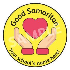 Good Samaritan Sticker