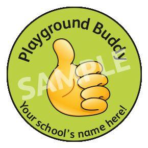 Playground Buddy Sticker
