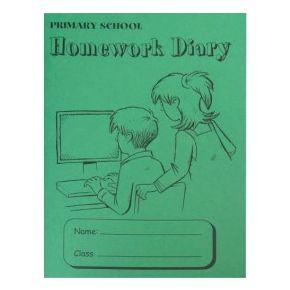 Primary School Homework Diary - A5