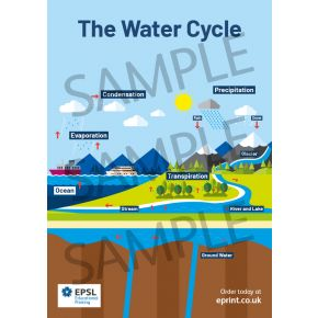 The Water Cycle A2 Poster