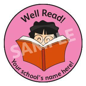 Well Read Sticker