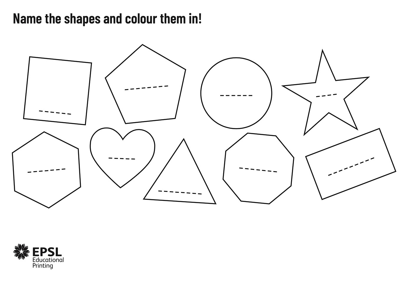 Colouring Shapes