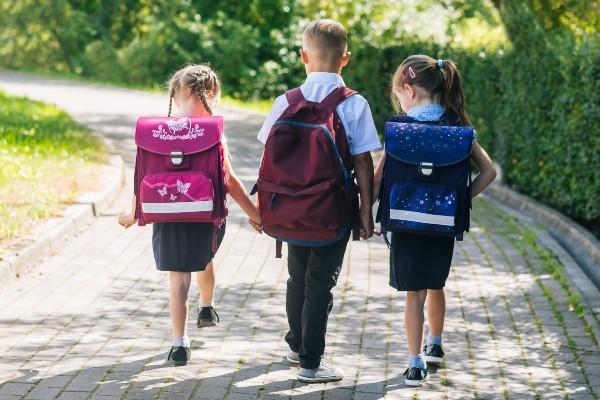 What exercise books do I need for my first day of primary school?